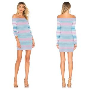 TULAROSA SLINKY STRIPED SWEATER DRESS PALOMA WOOL